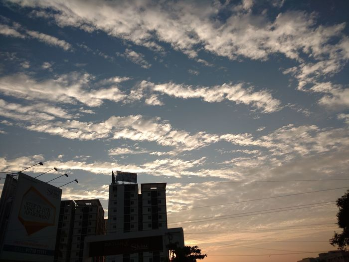 Chennai Evening Sky Clouds