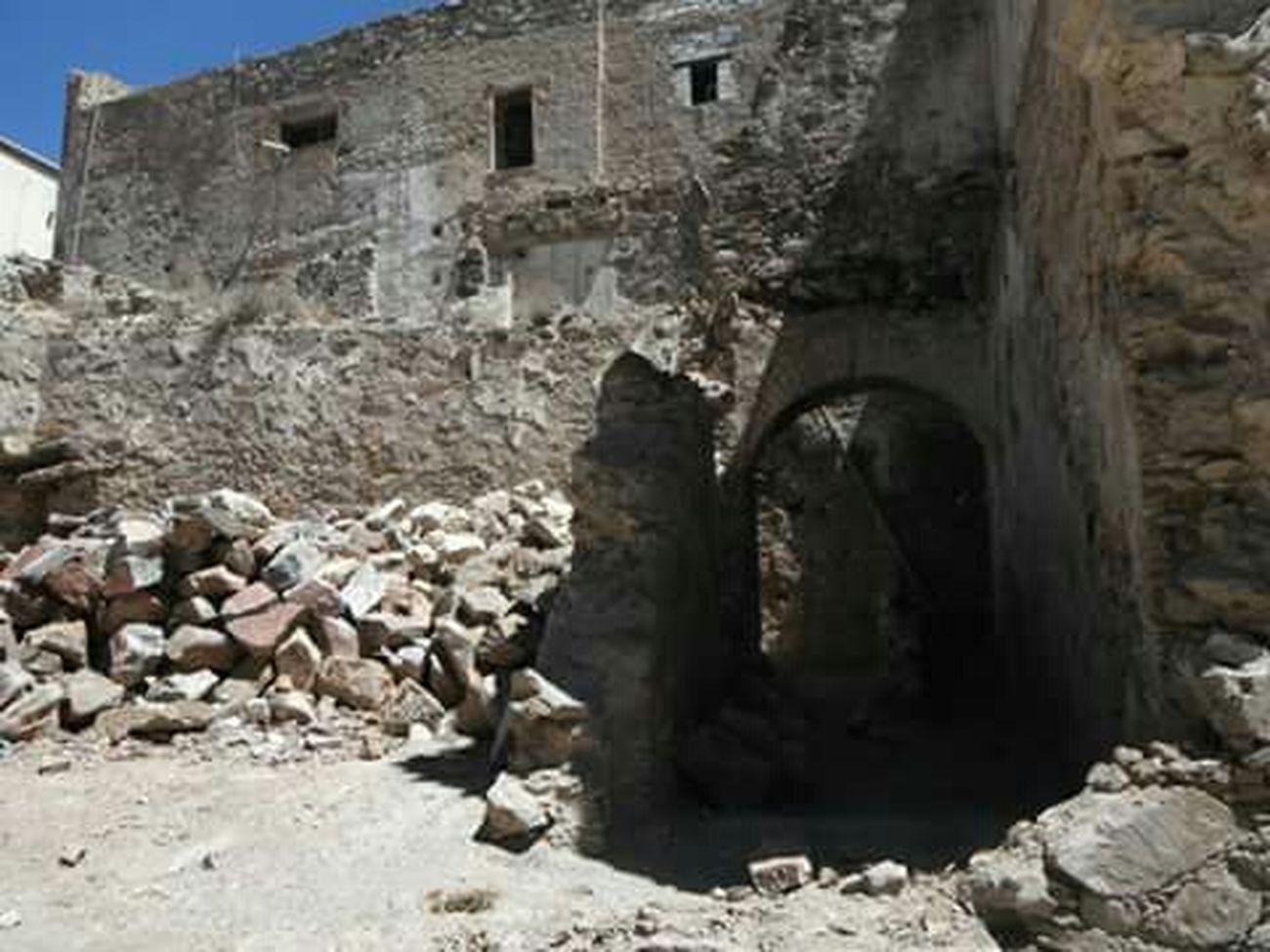 Dando El Rol en Real De Catorce las Calles En Ruinas