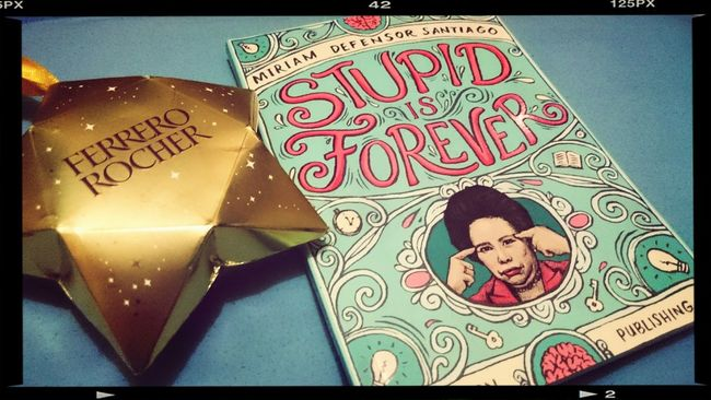 Gift from my event buddy :) thank you owsow awesome ??? Ferrero Rocher Miriamdefensorsantiago