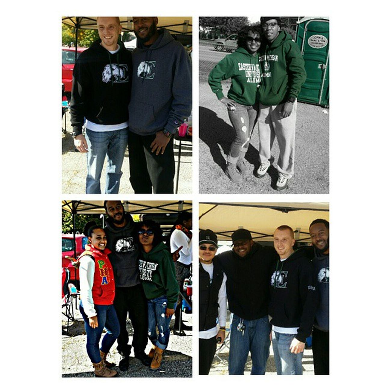 A few pics from homecoming tail gate! @c_eazy84 Tag Dani! Great time, with great people! Emu Emuhomecoming Weactuallywonthegametoo EasternMichigan