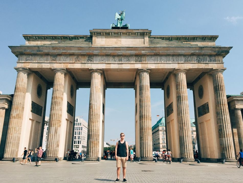 Beautiful stock photos of sommer, 25-29 Years, Architectural Column, Architecture, Berlin