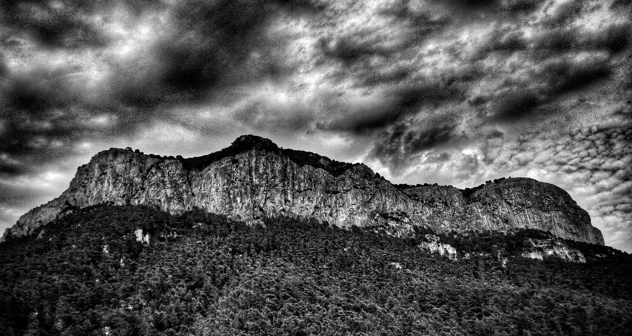 Balearic Islands Mallorca Alaro Phone Photography B/W Photography Drama Mountain Sea And Sky Clouds Nature Photography Mallorca Showcase July