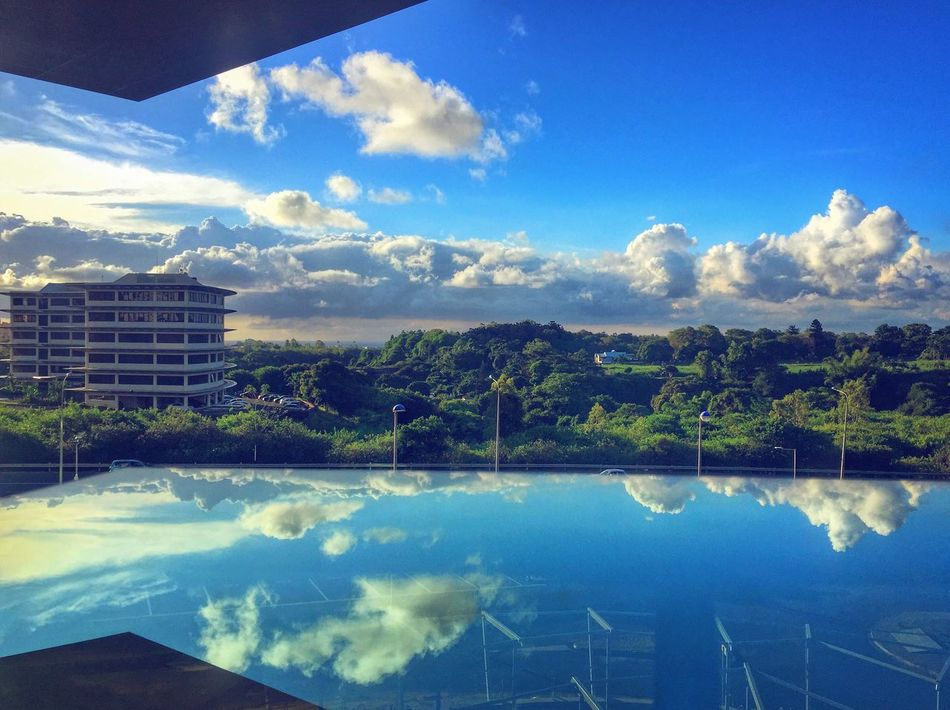 View from the office Mauritius Prodigious Sky Cloud
