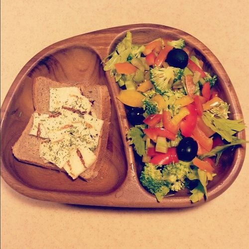 Salat Breakfast سلطة Yam Yam