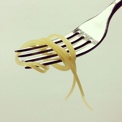 This sums up pretty much 2012. #endofleyearbalance Wheatpowah Pastaporn Endofleyearbalance Bipolarporn Situation Minimalism Minimalist Foodporn Twisted Crapstract Lineporn Forkporn Foodster