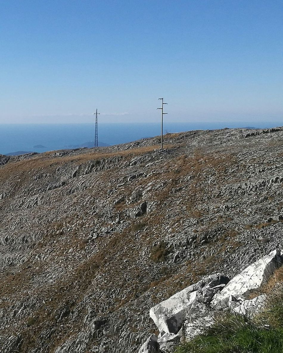 Sea Sky Clear Sky Outdoors Nature No People TrekkingDay Apuane Mountains EyeEm Best Shots Beauty In Nature