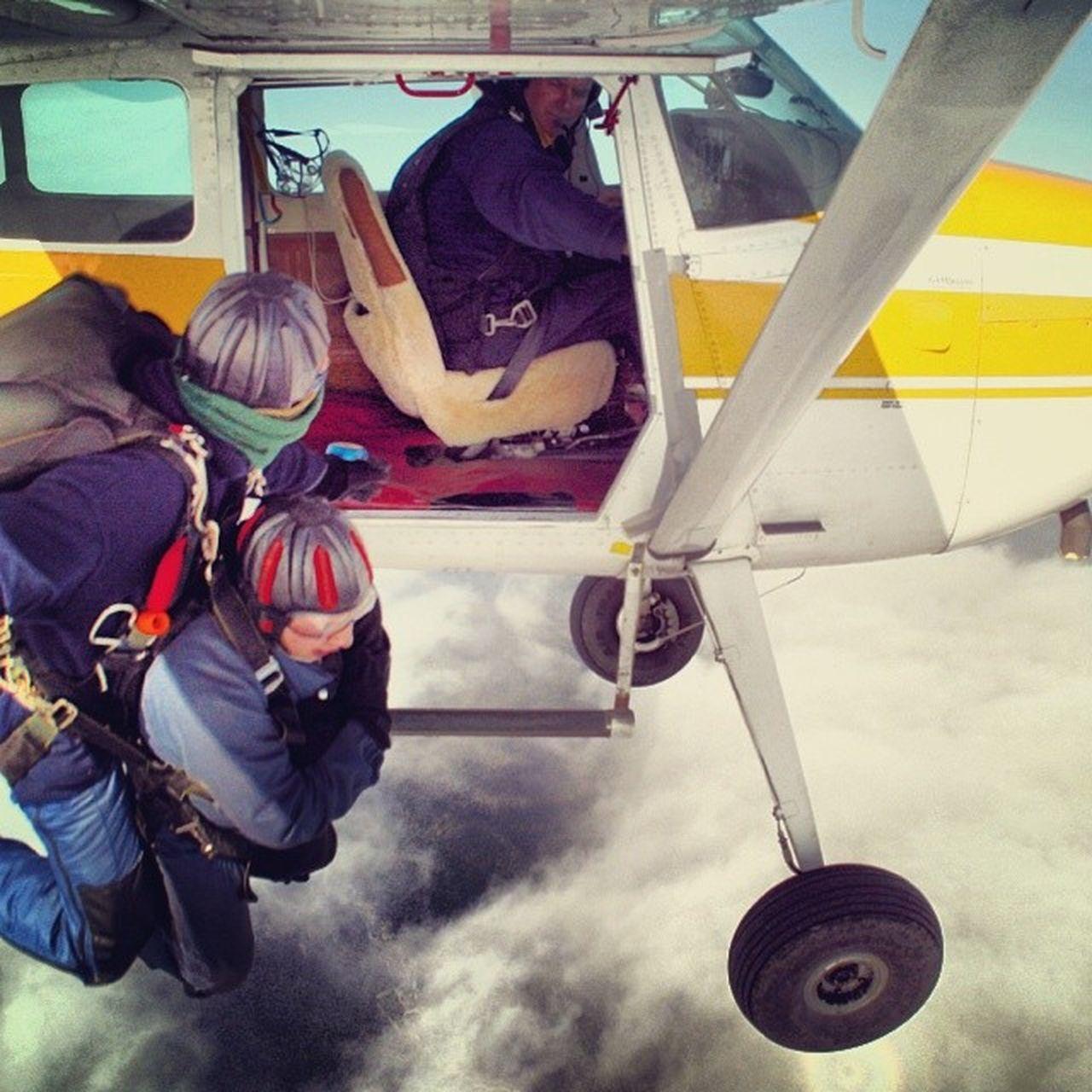NZ New_Zealand TBT  Sky_Dive Parachute Jump Plane 2008 Above_The_Clouds Franz_Josef Glacier Travel Tourist Scary Adrenaline Rush Fun Free Fall Clouds Action Life Bucketlist Whoopeeeeeeee Adventure Club