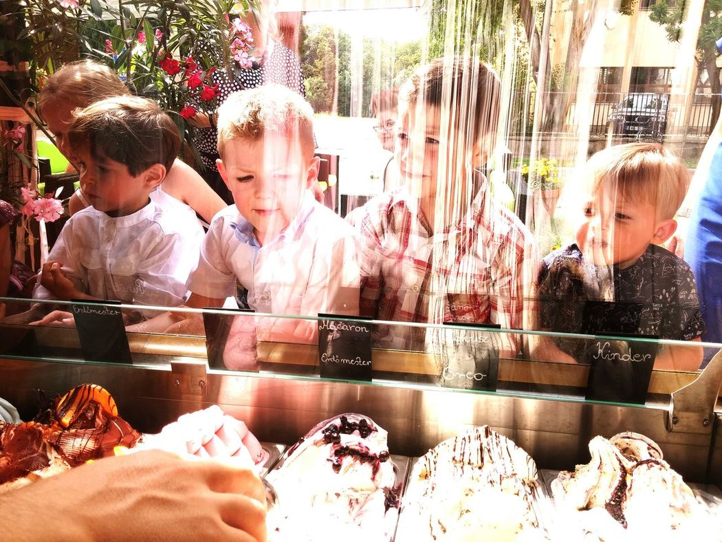 Live For The Story Ice Cream Young Child Friends Wedding Formal Clothing