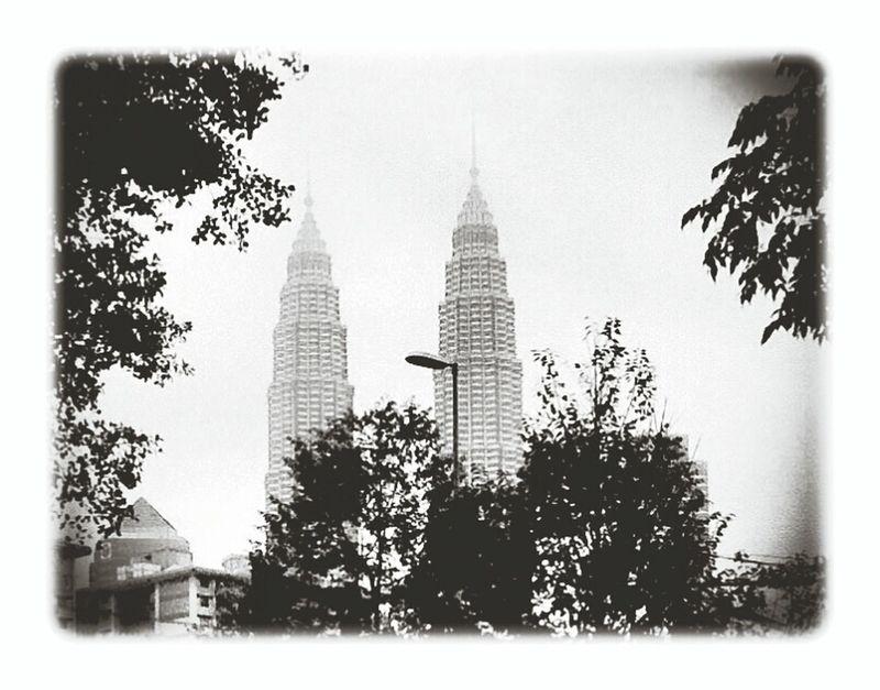 Twin tower kuala Lumpur Malaysia..