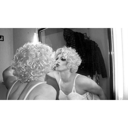 Dangerously Sexy Hot Madonna Blackandwhite www.crystalshow.com.ua