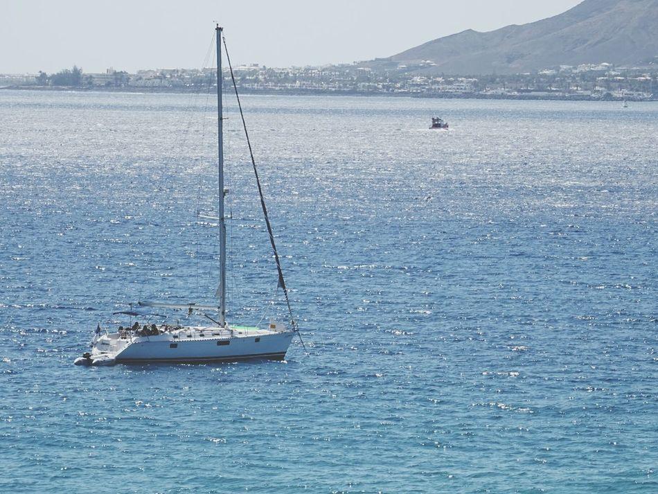 Blue Wave Relaxing Taking Photos Sailing EyeEm Sports Photography Sailing Ship Seasport Sea