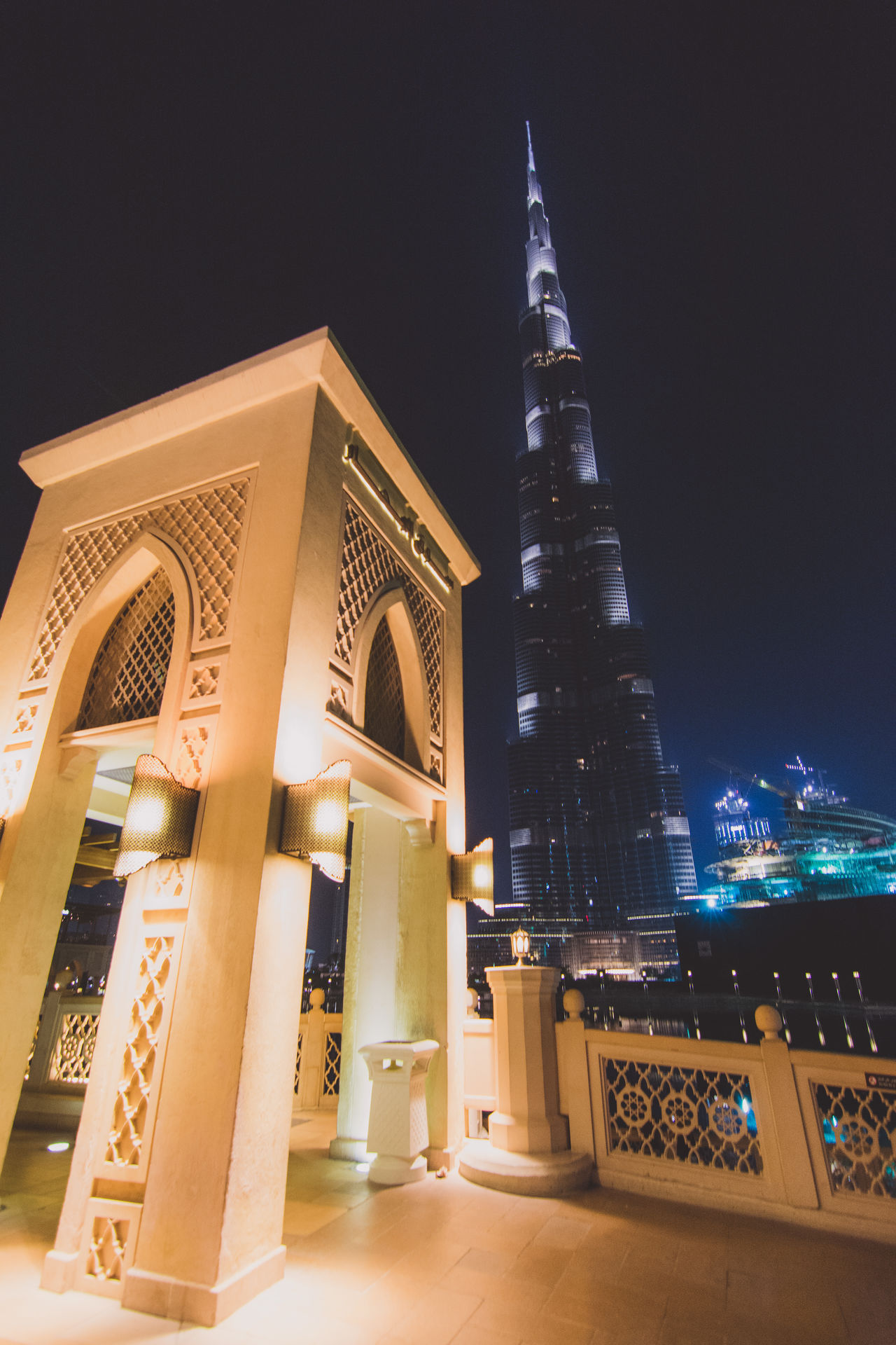 Architecture Built Structure Burj Khalifa Business Finance And Industry City Dubai DXB Façade Illuminated Night No People Outdoors Place Of Worship Religion Sky Skyscraper Tourism Tower Travel Travel Destinations