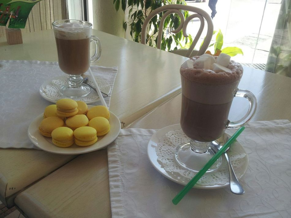 Cafe Coffee Time I And My Love Macaroons Macarons Best Day Khmel'nyts'kyy