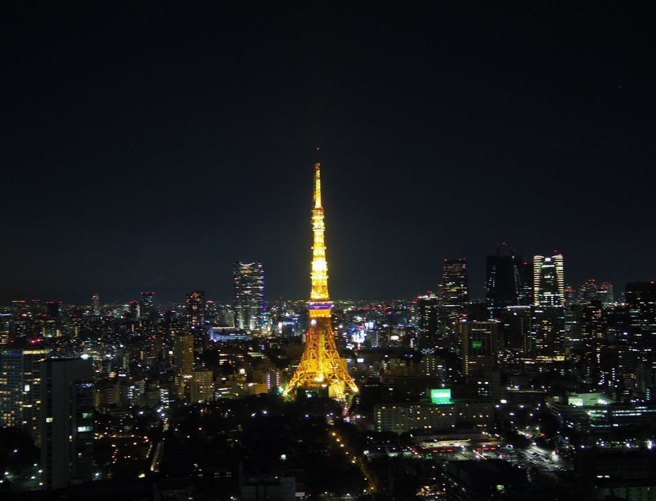 Cities At Night Tokyo,Japan Tokyo Tokyo Tower Ultimate Japan