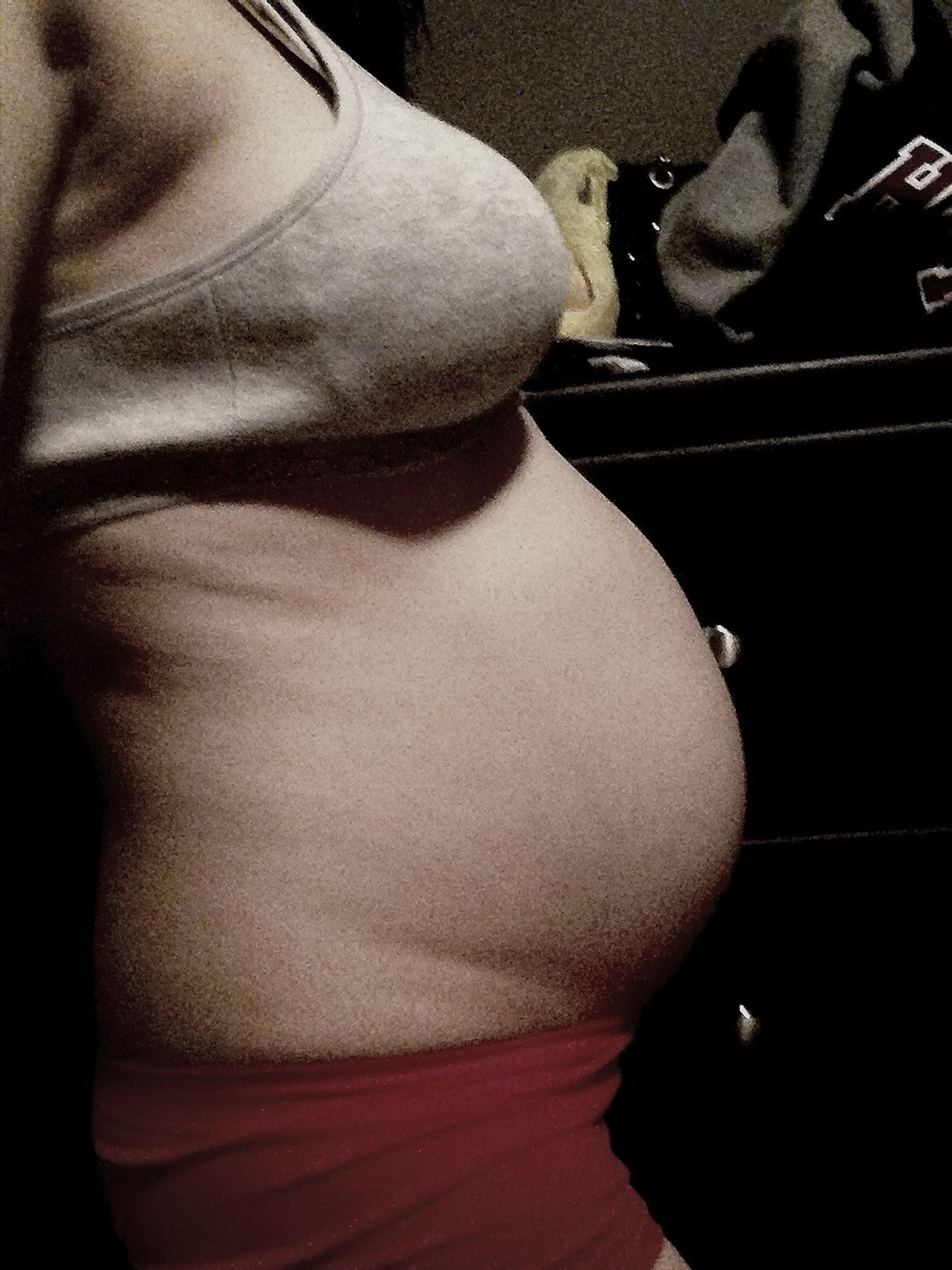 25 Weeks  Teen Mum My Baby Girl <3 Baby Bump