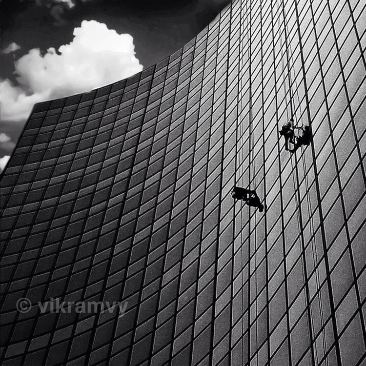 blackandwhite in Chicago by Vik