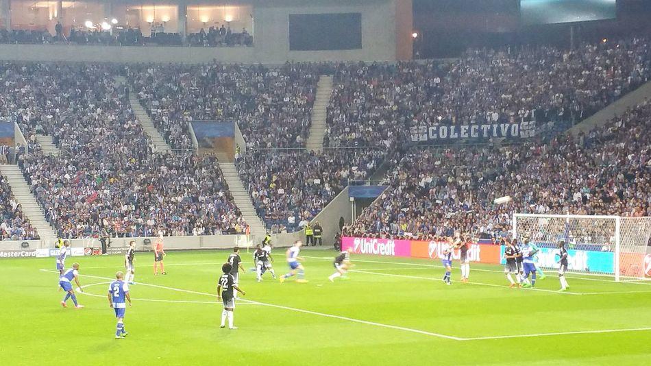 Football Stadium Fc Porto Chelsea Estadio Do Dragao Night Championsleague