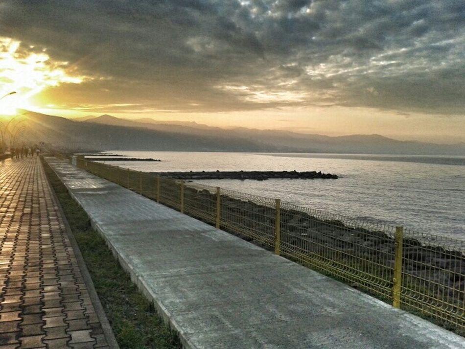 Sunny Gunbatimi Deniz Doga♡♥♡ Yürüyüş Huzur Trabzon Beşirli Spor