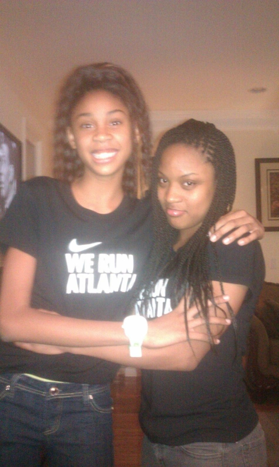 My Baby Sister Is Now Taller Than Me #smh :\