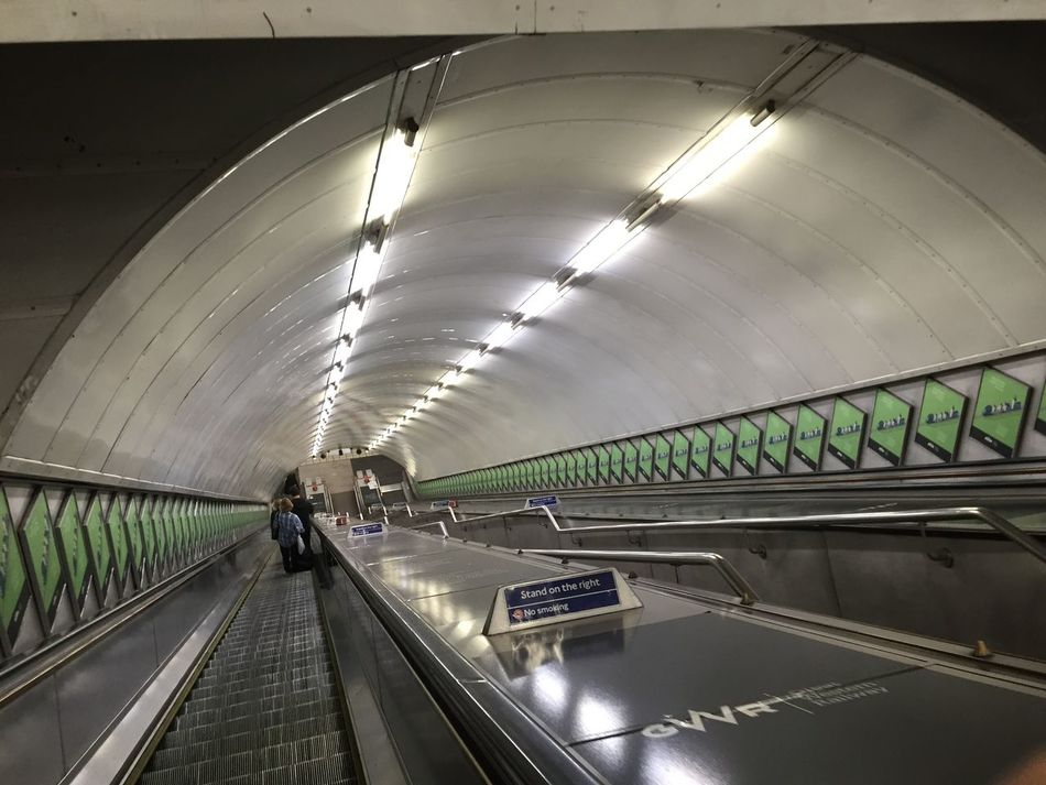 The Purist (no Edit, No Filter) Illuminated Ceiling Architecture On The Move Built Structure Indoors  Subway Transportation Building - Type Of Building Tunnel Moving Walkway  Purist No Edit No Filter Purist In Photography From My Point Of View Eye4photography