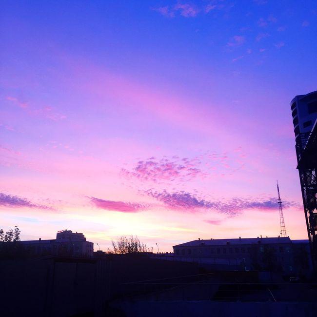 Sanset City Sky Cloud - Sky No People Followme Evening Закат подпишись красиво небо облака