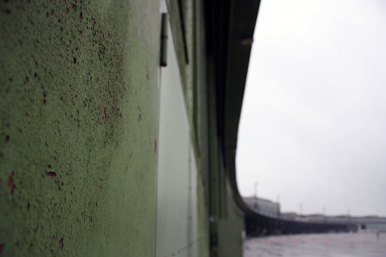 Airport Airport Architecture Close-up Focus On Foreground Green Color Metal No People Paint Decay Tempelhof Tempelhof Airport