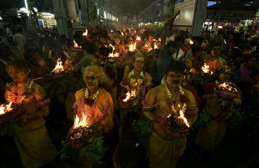Capture The Moment Dasara rituals at Kulasekarapattinam. Dasara Kulasekarapattinam Ritual Festival Cities At Night Overnight Success Carnival Crowds And Details