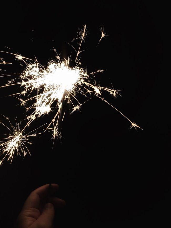 Sparkler Sparkler Fireworks Firecracker Fourth Of July Hand