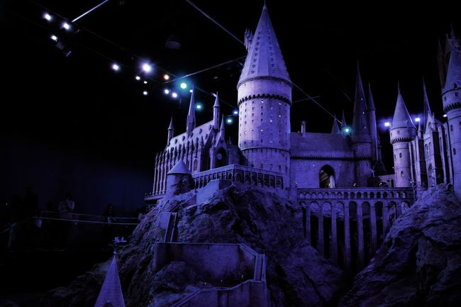 Hogwarts Model Low Angle View Night Ancient Obsolete Outdoors Tourism Stone Material Complexity Hogwarts Hogwarts School Of Witchcraft And Wizardry Model Miniature Harry Potter Harrypotter Harry Potter ⚡ Harry Potter Studios Harrypotterstudios Harry Potter ❤ Harrypotterfan Blue Film