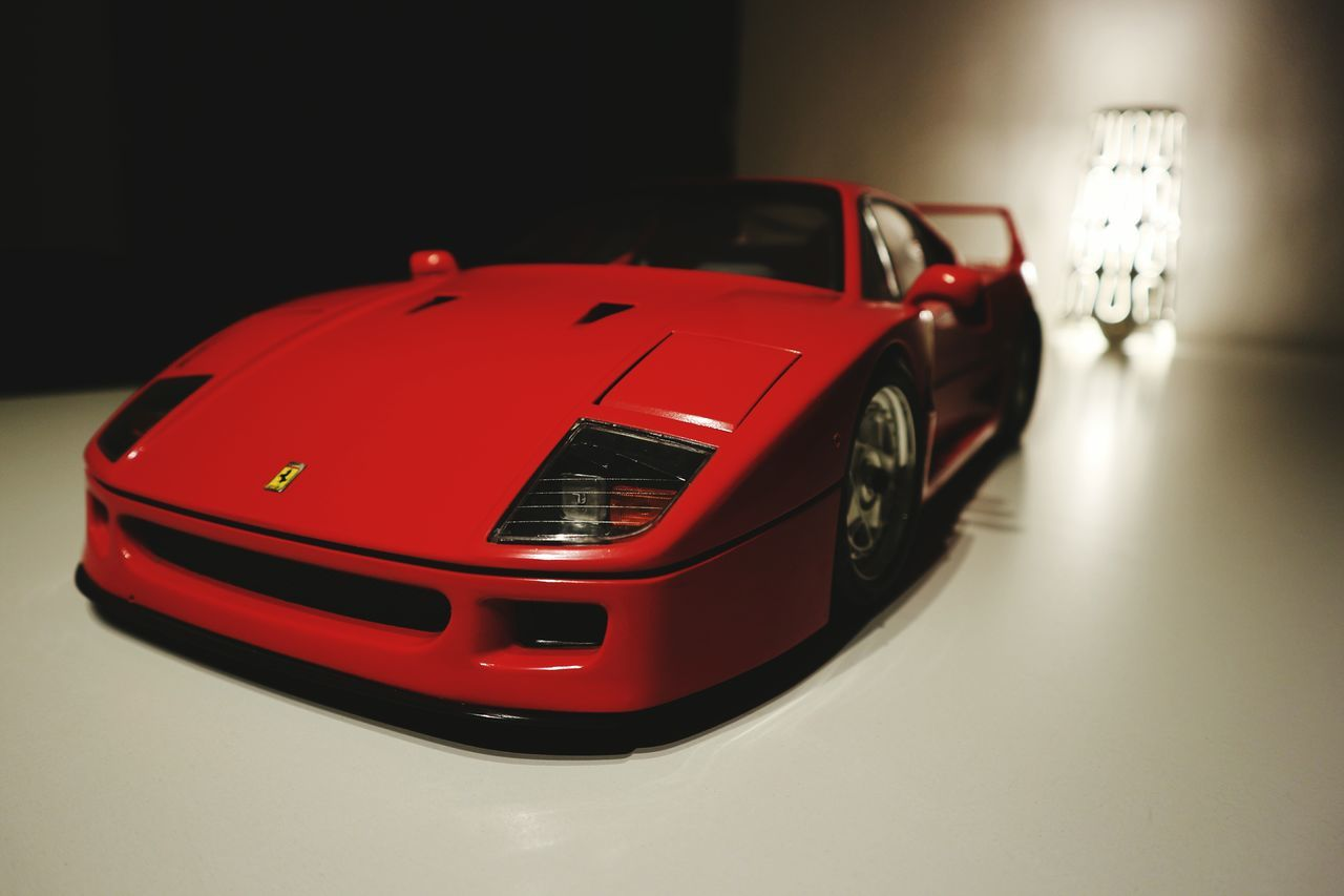 Car Red Racecar Close-up No People Motorsport Beautiful Expensive HDRIlluminated Awesome Shiny Pocher 1/6 Scale Modellbau  Model Ferrari F40 EyeEmNewHere