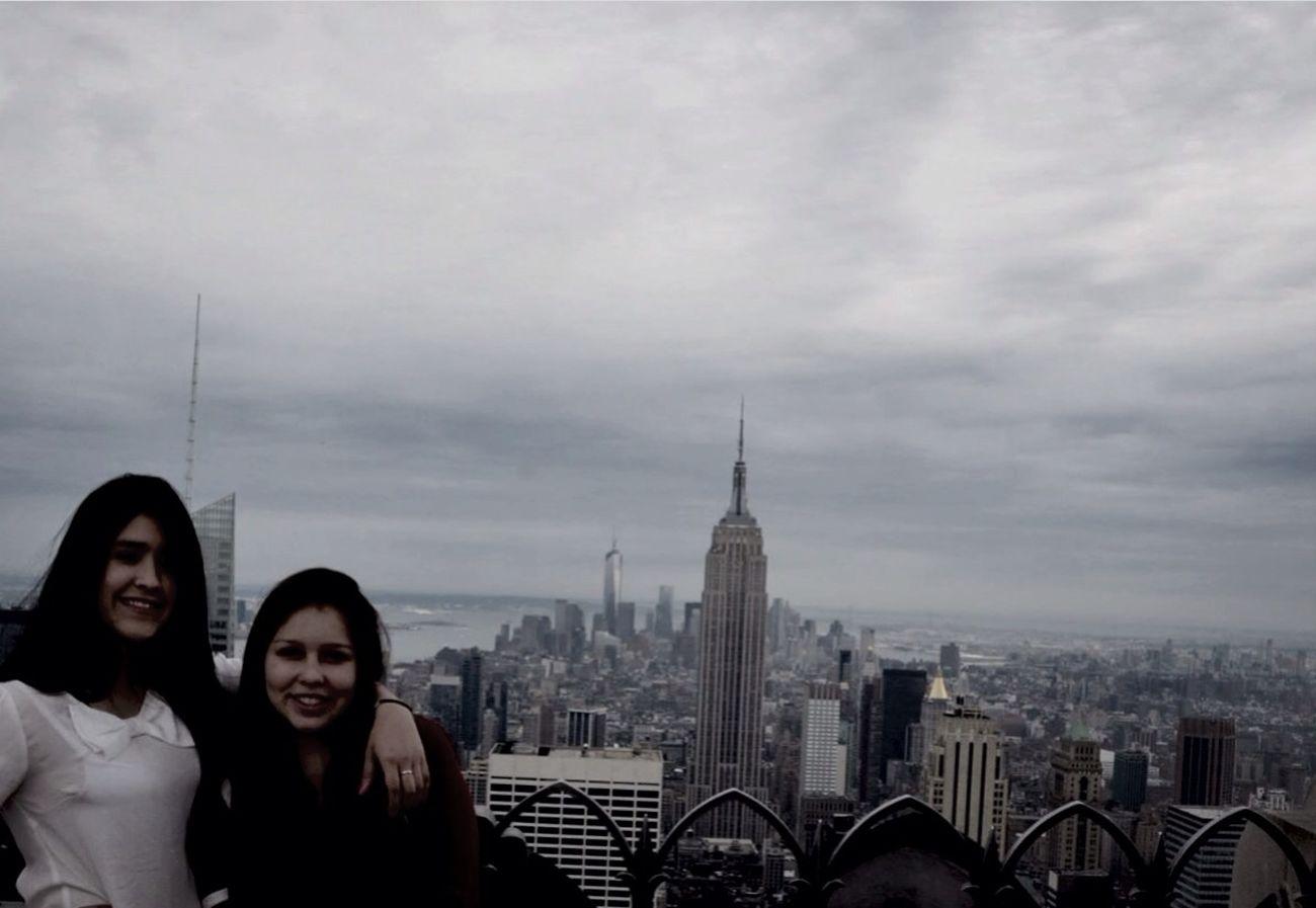 Best friend. New York Rockerfeller