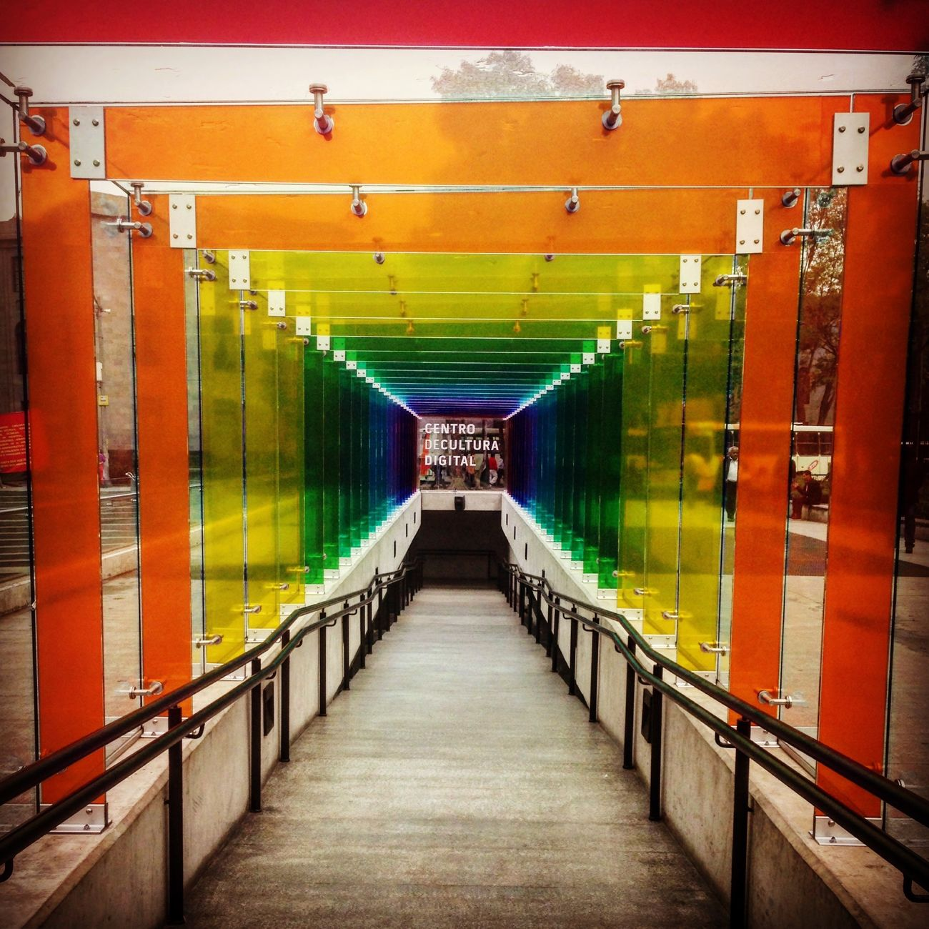 Life is full os colors, taste trem! Multi Colored No People Architecture Mexican Mexico Outdoors Rainbow Colors Rainbow Cdmx2016 CDMX. Blessedandthankful