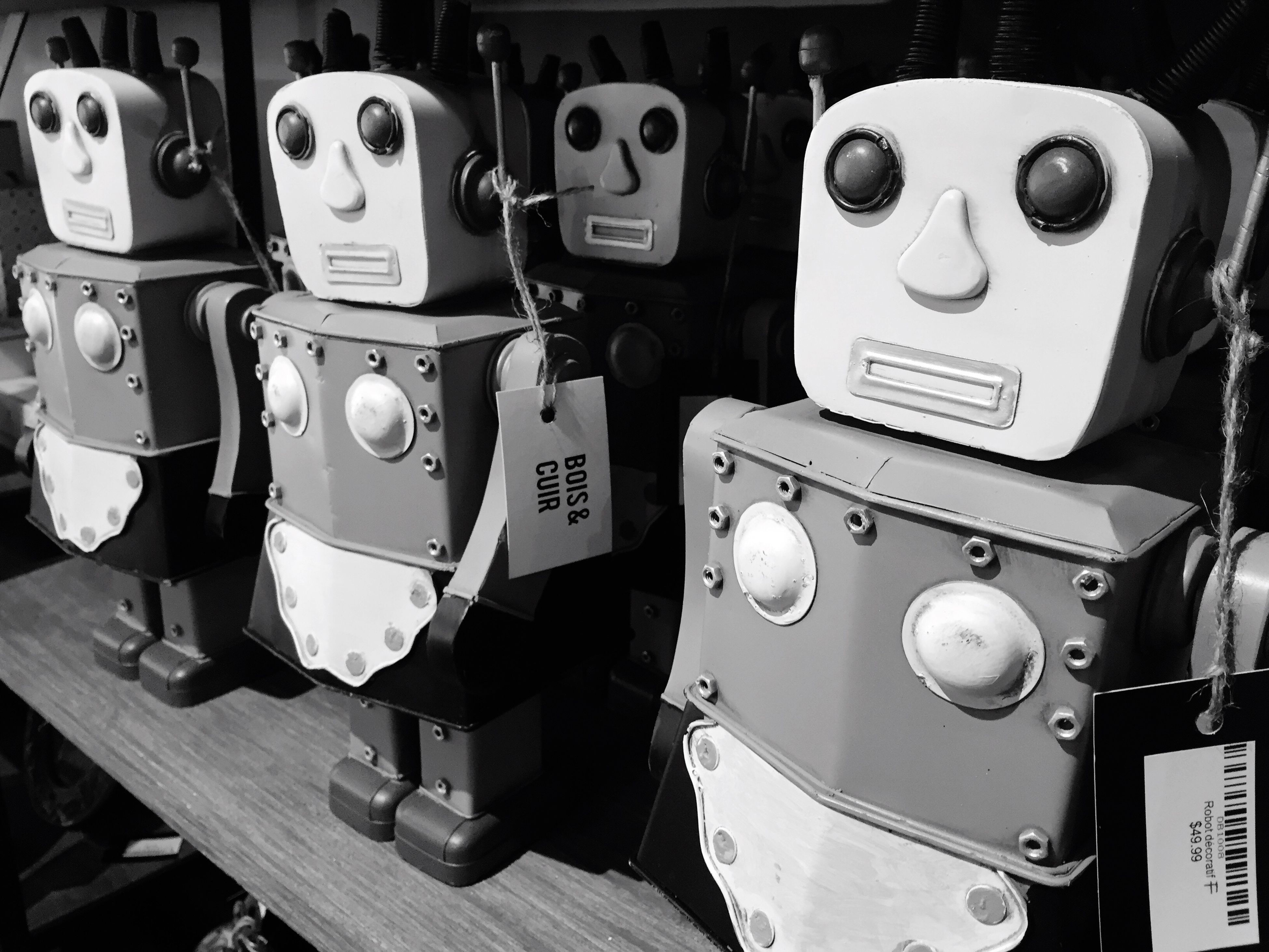 Roboto Robot Same  Large Group Of Objects Boutiqueboisetcuir StRoch Ruestjoseph
