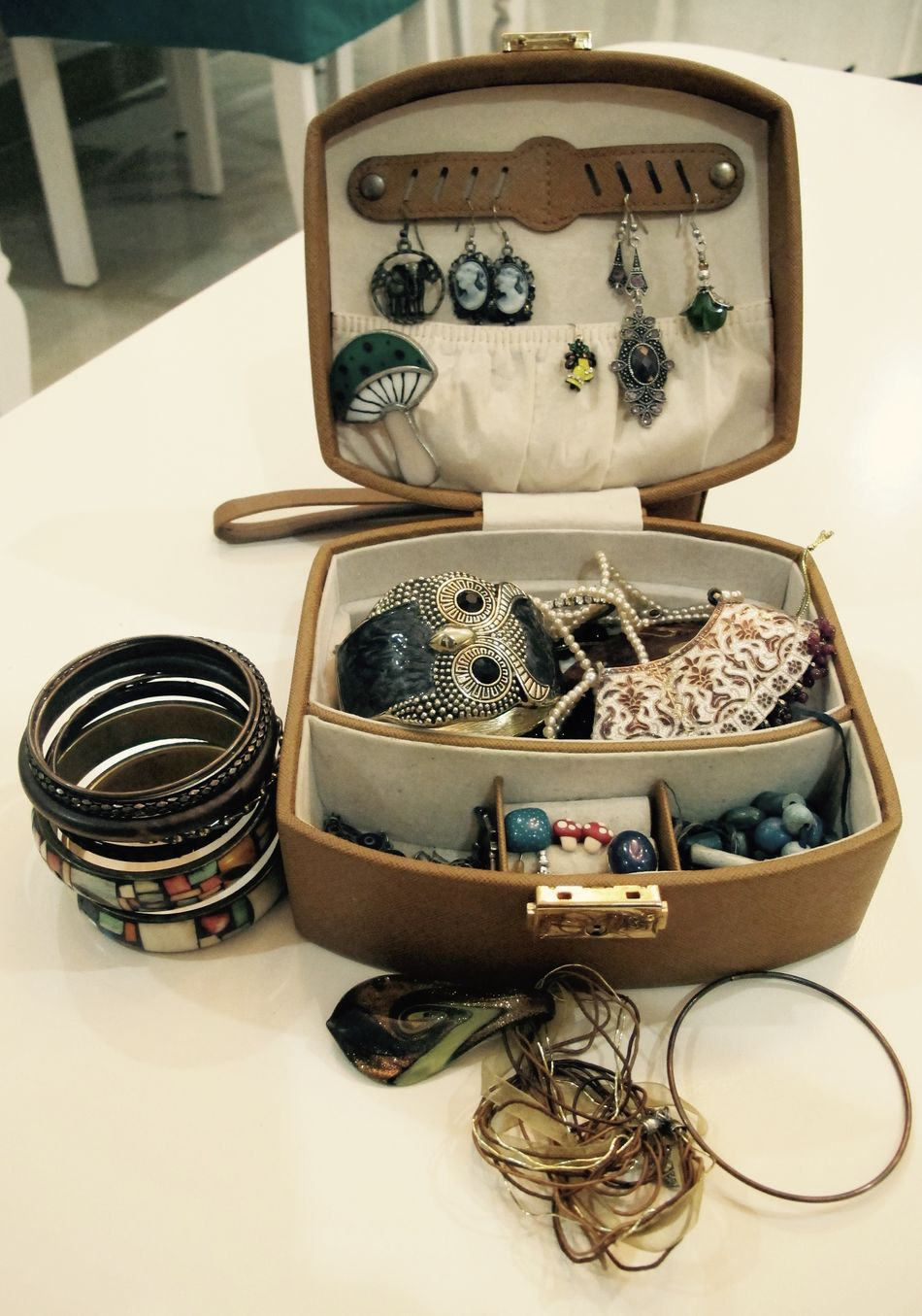Jewellery box Jewellery Box Like A Girl Retro Styled