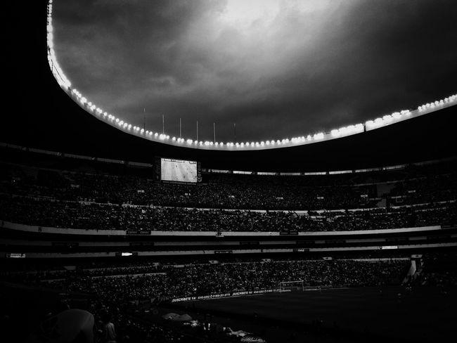 Football Stadium Soccer⚽ Futebol Estadioazteca Amazing Architecture Futeboll Blackandwhite Futbol EyeEm Best Shots Eyeemphotography