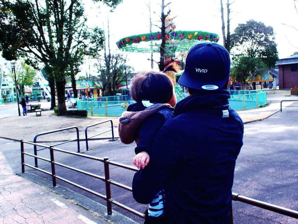 Looking Into The Future We Are Family Lovemyboys Darling My Kids Zoo Kumamoto Happyholidays Vivid Enjoying Life