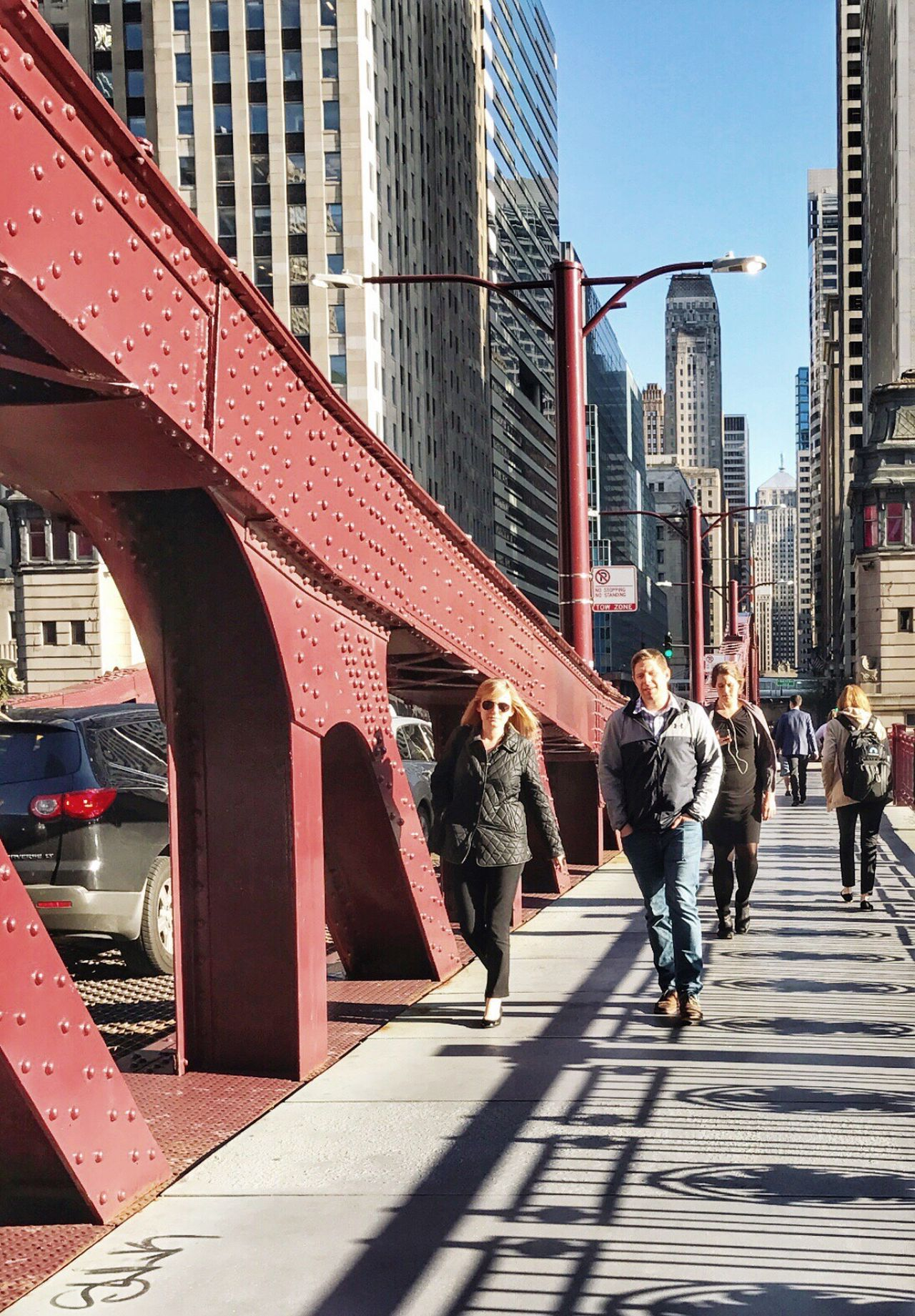 Sunny ☀️ Sunny Day on Lasalle Street ⛩ Bridge Financial District  🏦 Shadow Shadows & Lights Monday Architecture City Life Street Photography People People Watching Chicago Chicago Architecture Urban Urban Landscape Urbanphotography Urban Exploration Explore IPhoneography Eyeemphotography EyeEm