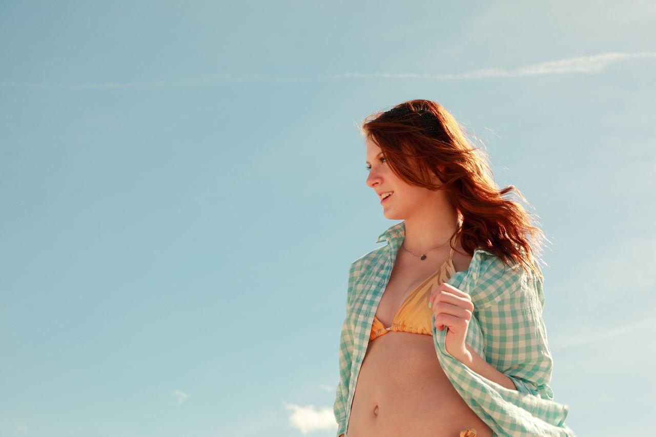 Beautiful stock photos of sonnenschein, 14-15 Years, Beautiful Woman, Beauty, Bikini