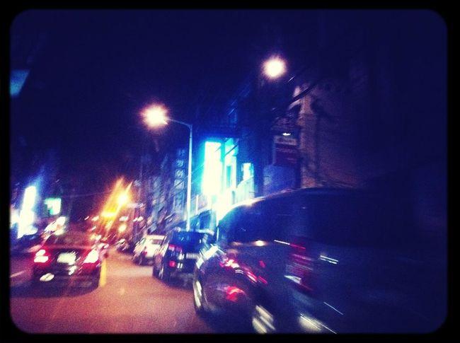 Late Night Taxi Ride