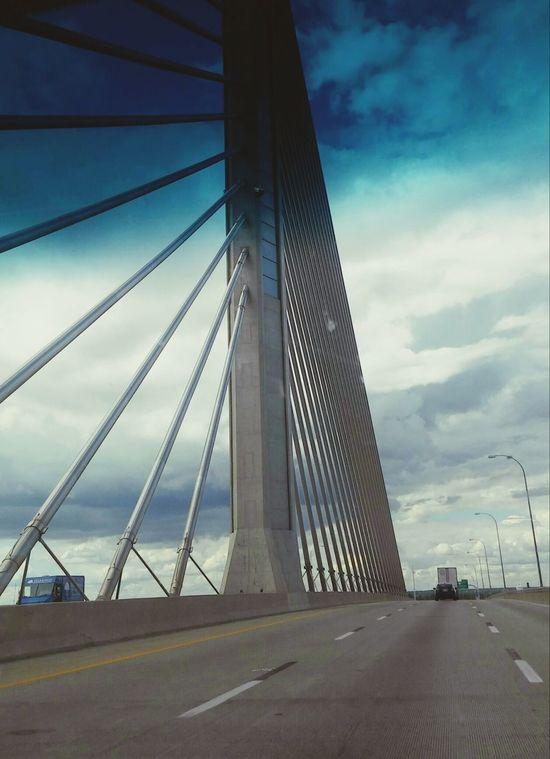 Ohio, USA Bridge - Man Made Structure Bridge Photography Toledo, Ohio EyeEm Gallery Photo Of The Day Man Made Structure Beautiful Bridges USAtrip Roadtrip2016