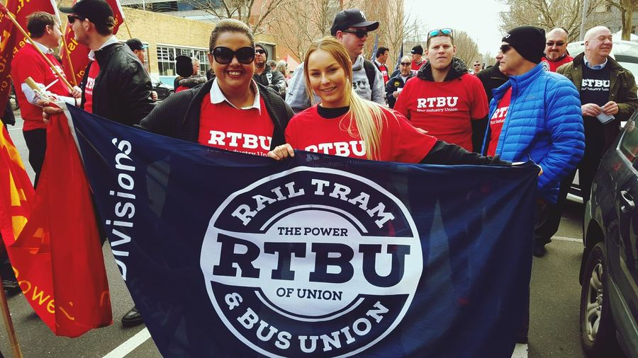 "Rhianna & Tamara fighting for their rights. ""We already work 9 days in a row. We work weekends. We just want a decent life"" Working Meeting Union Thugs"