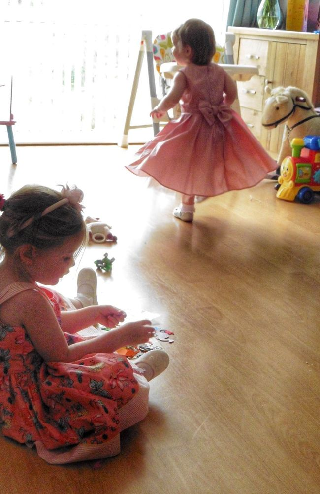 Colour Of Life Scotland Dancing Dancers Children Grandchildren Grandchildren's Love Pink Tiny Dancer