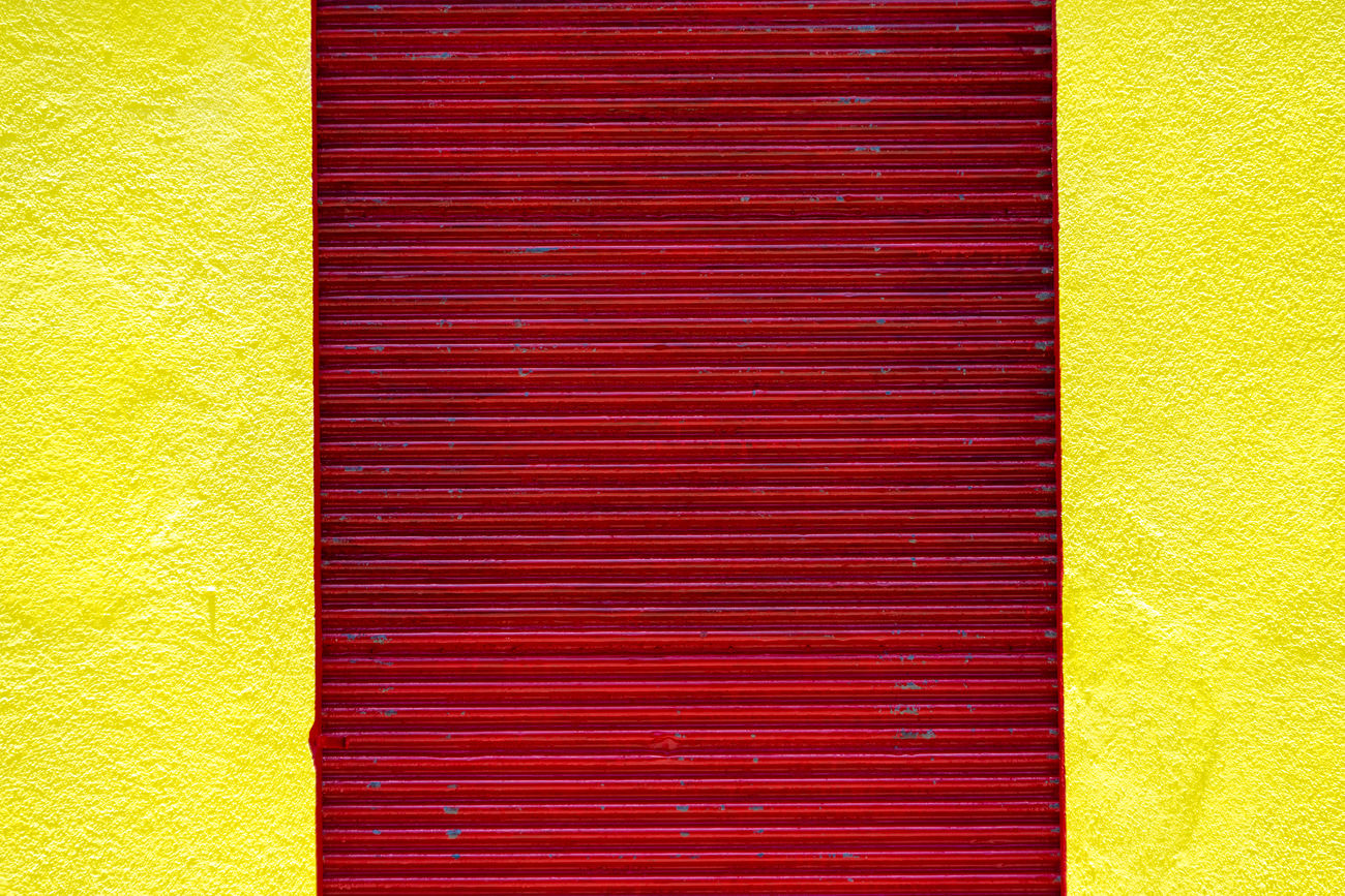 Red and yellow colonial house detail. Beautiful architecture with complementary colors. Architectural Detail Architecture Close-up Colonial Colorful Colors Complementary Cuba Detail House No People Old Outdoors Painted Red Santa Clara Spanish Villa Clara Yellow