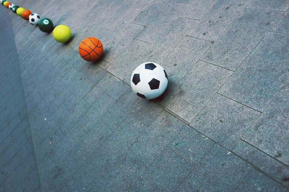 Beautiful stock photos of soccer balls, Arrangement, Ball, Baseball - Sport, Basketball - Ball