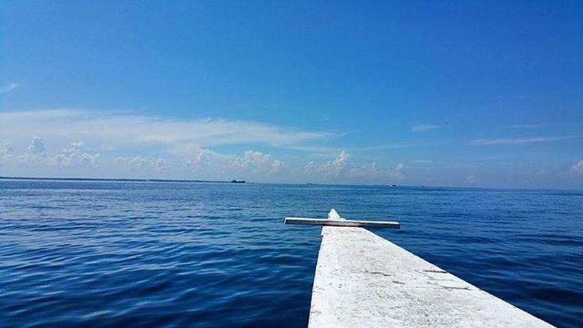 Cebu Philippines Santorini Ocean Sea Boat Blue SCUBA Diving Sun Nature Adventure Travel Trip Backpacking 필리핀 세부 바다 파랑 보트 스쿠버다이빙 Divelab Santorini on the ocean