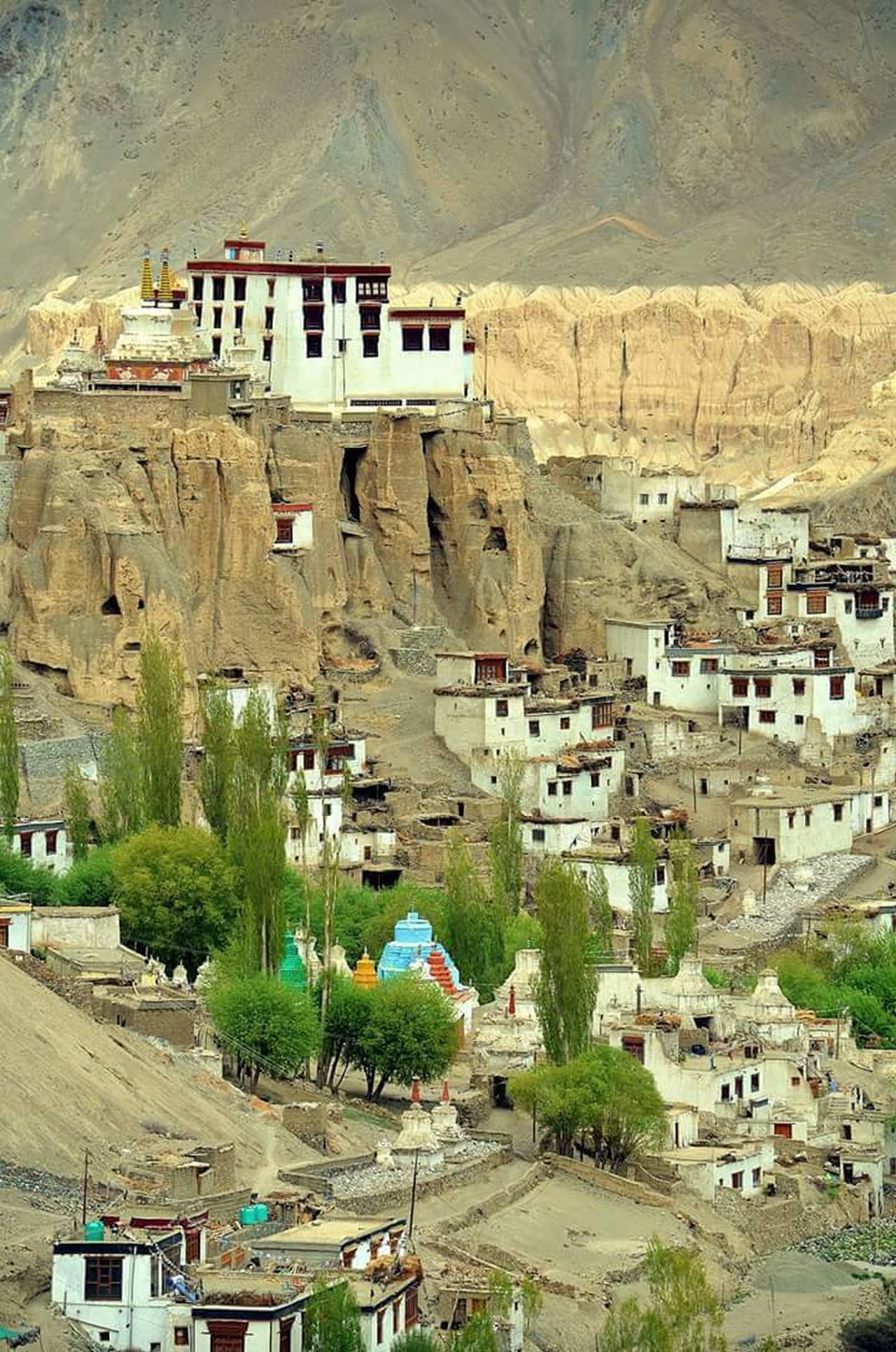Lamayuru Village and Monastery Leh, India EyEmNewHere Himalayas Indianphotography Cold Desert India Traditional Culture Nature Outdoors Natural Disaster Travel Destinations