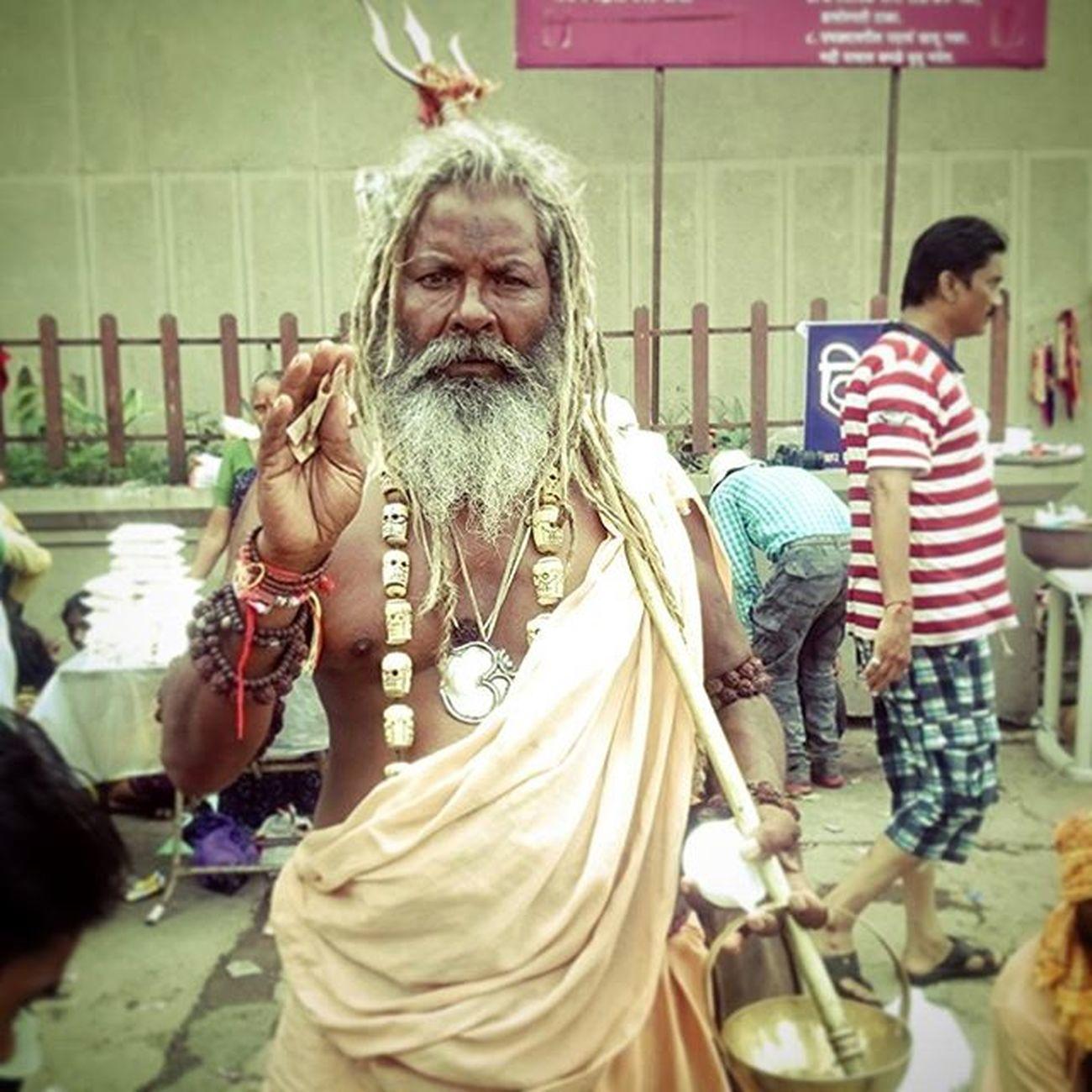 Mahakumbh Kumbmela2015 RamKund Nasik Sony XperiaZ3 Instapic Instadaily Dreadlocks Baba Aghori