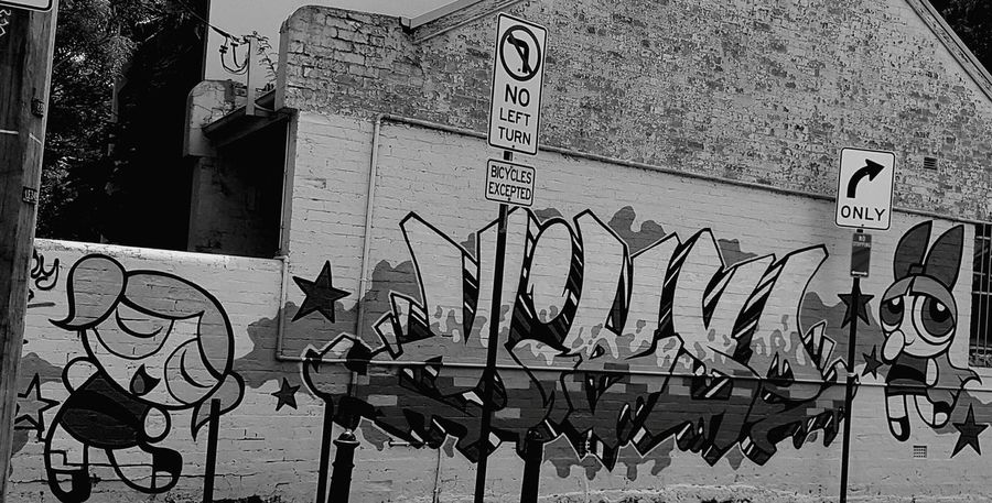 Graffiti No People Text Outdoors Architecture Day Close-up Streets Of Sydney Newtown NSW Sydney, Australia Street Art Photography