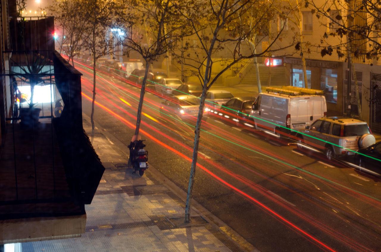 Luces de vehículos 2015  Camera Effects City Eddl Illuminated Night Outdoors Zaragoza