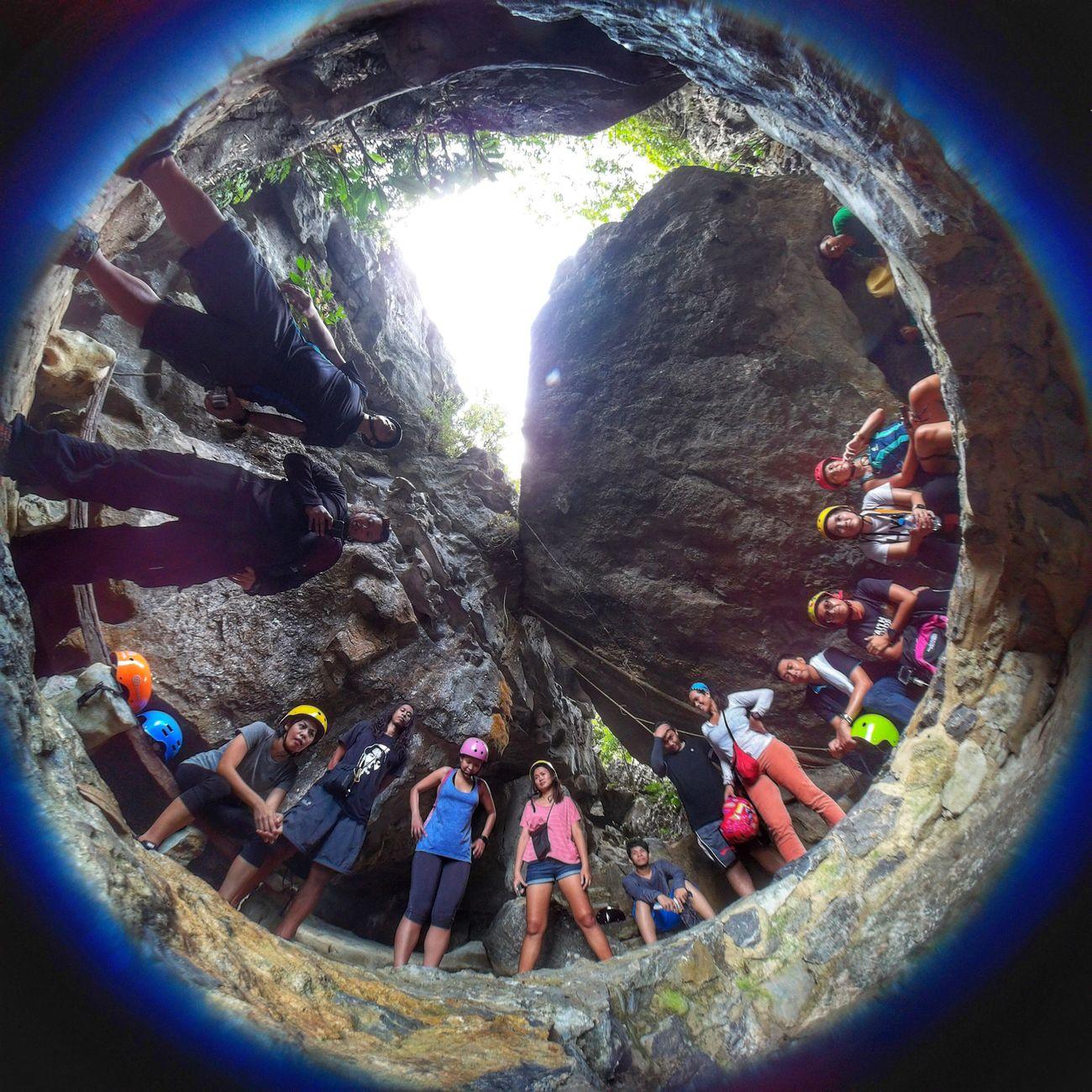 When in Masungi. Eyeem Philippines Kickassmonti Fisheye Travel Wanderlust Masungi Rock Formations Philippines